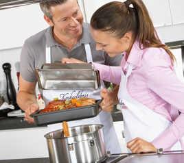 Imagine Accesorii pentru copt şi gătit cu aburi