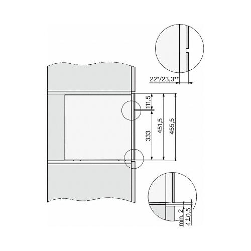 Espressoare încorporate CVA 7845
