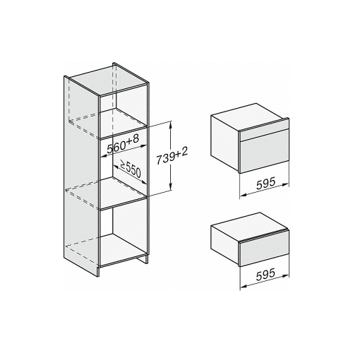 Sertare termice ESW 7020